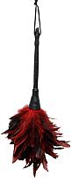 Перышко для щекотания Pipedream Frisky Feather Duster / 27036 (красный/черный) -