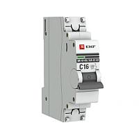 Выключатель автоматический EKF PROxima ВА 47-63 1Р 63А (C) / mcb4763-1-63C-pro -
