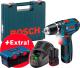 Профессиональная дрель-шуруповерт Bosch GSR 12V-15 Professional (0.615.990.L28) -