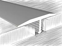 Порог КТМ-2000 325-01 А 2.5м (серебристый) -