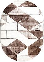 Ковер Merinos Diamond Овал 22081-070 (2.4x3.4) -