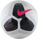 Футбольный мяч Nike Pitch PL / SC3569-100 (размер 4, белый/черный/розовый) -