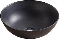 Умывальник CeramaLux 104MB (черный матовый) -