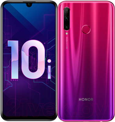 Смартфон Honor 10i 4GB/128GB (Phantom Red) -