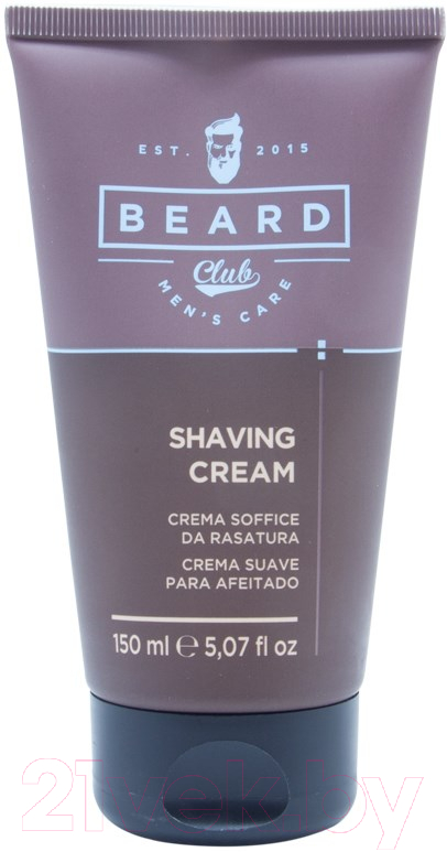 Купить Крем для бритья Beard Club, Смягчающий (150мл), Италия