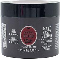Паста для укладки волос Beard Club Матовая сильная фиксация (100мл) -