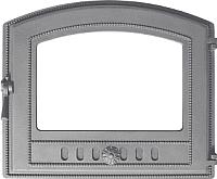 Дверца печная Везувий 224 (неокрашенная, без стекла) -