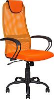 Кресло офисное Алвест AV 142 ML (черный/оранжевый) -