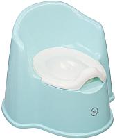Детский горшок Happy Baby Zozzy 34018 (голубой) -