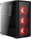 Корпус для компьютера AeroCool Quartz Red -