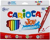 Фломастеры Carioca Джой (24шт) -
