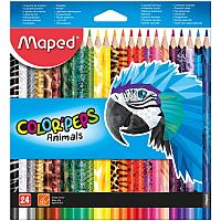 Набор карандашей Maped Color' Peps Animal / 9013646 (24шт) -
