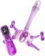 Вибрострапон ToyFa PVC / 884009 (фиолетовый) -