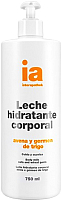 Молочко для тела Interapothek Увлажняющее с экстрактом овса и зародышей пшеницы с дозатором (750мл) -