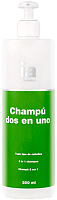 Шампунь-кондиционер для волос Interapothek Dos En Uno с дозатором 2 в 1 (500мл) -