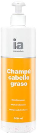 Купить Шампунь для волос Interapothek, Для жирных волос с дозатором (500мл), Испания