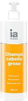 Шампунь для волос Interapothek Для жирных волос с дозатором (500мл) -