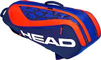 Сумка теннисная Head Junior Combi Rebel / 283609 (синий/красный) -