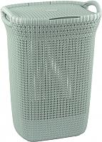 Корзина для белья Curver Knit Laundry Hamper / 228411 (синий) -