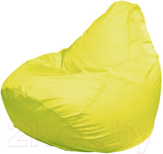 Купить Бескаркасное кресло Flagman, Груша Макси Г2.1-07 (желтый), Беларусь, оксфорд
