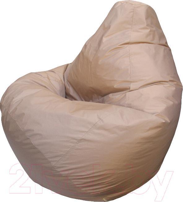 Купить Бескаркасное кресло Flagman, Груша Макси Г2.2-01 (темно-бежевый), Беларусь, оксфорд