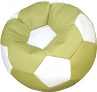 Бескаркасное кресло Flagman Мяч Стандарт М1.3-1910 (оливковый с белым) -