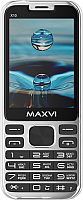 Мобильный телефон Maxvi X10 (Metallic silver) -
