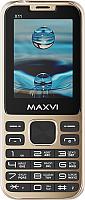 Мобильный телефон Maxvi X11 (Metallic gold) -