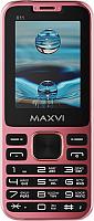 Мобильный телефон Maxvi X11 (Rose gold) -