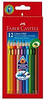 Набор цветных карандашей Faber Castell Castell Grip 2001 (12шт) -