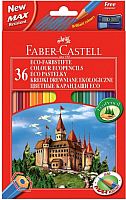 Набор карандашей Faber Castell Eco с точилкой (36шт) -