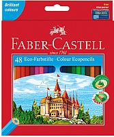 Набор карандашей Faber Castell Замок Eco с точилкой (48шт) -