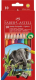 Набор цветных карандашей Faber Castell Jumbo с точилкой (10шт) -
