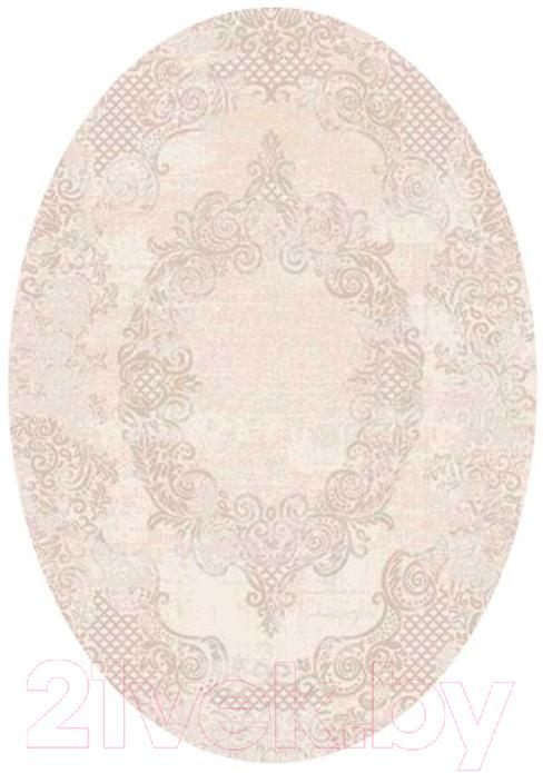Купить Ковер OZ Kaplan, Maximillian Овал 07924B (1.5x3, кремовый), Турция