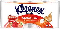 Туалетная бумага Kleenex Cottonelle Aroma Care Сочная клубника (8рул) -