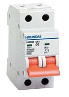 Выключатель автоматический Hyundai HIBD 63 2P 6kA 50A C -