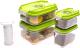Контейнеры для вакуумного упаковщика Status VAC-Rec-Smaller Grenn -