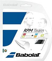 Струна для теннисной ракетки Babolat Rpm Team / 241108-105-125 (12м, черный) -