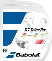 Струна для теннисной ракетки Babolat G Spiraltek / 241124-104-130 (12м, красный) -