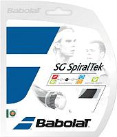 Струна для теннисной ракетки Babolat SG Spiraltek / 241124-105-130 (12м, черный) -