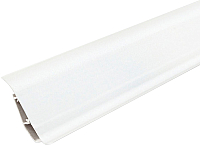Плинтус Ideal Система 001-G Белый глянцевый -