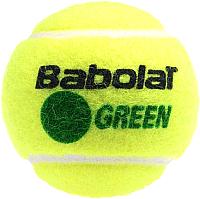 Набор теннисных мячей Babolat Green Bag / 512005 (72шт, желтый/зеленый) -