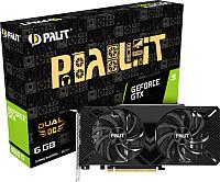 Видеокарта Palit GTX1660Ti Dual OC 6GB GDDR6 (NE6166TS18J9-1160A) -