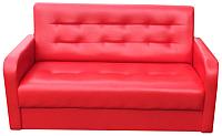 Диван Настоящая мебель Аккорд мини экокожа (красный) -