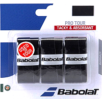 Грип для большого тенниса Babolat Pro Tour X3 / 653037-105 (3шт, чёрный) -