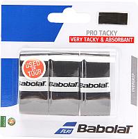 Грип для большого тенниса Babolat Pro Tacky X 3 / 653039-105 (3шт, чёрный) -