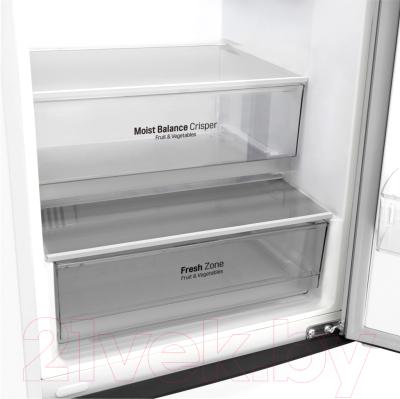 Холодильник с морозильником LG GA-B509BVHZ