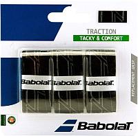 Овергрип Babolat Traction X 3 / 653043-105 (3шт, черный) -