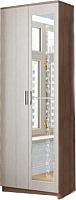 Шкаф SV-мебель Гостиная Гамма 16 Ж (ясень шимо темный/ясень шимо светлый) -