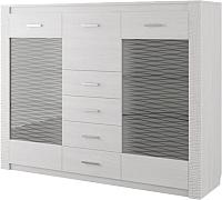 Комод SV-мебель Гамма 20 Ж (ясень анкор светлый/сандал светлый) -